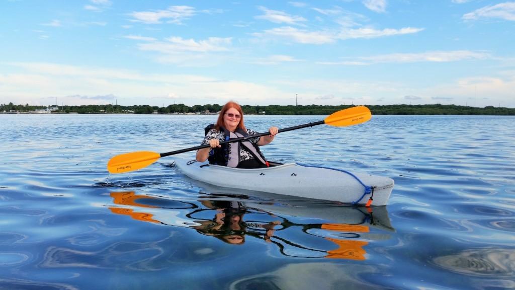 Ashley Partridge - Kayaking in Key Largo Cottages Key Largo Florida