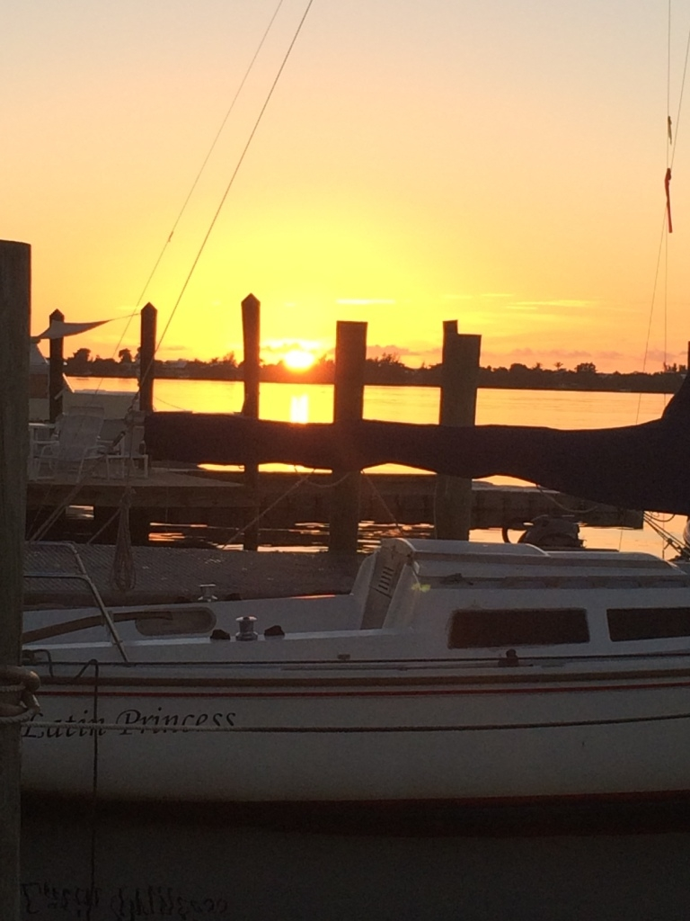 From Christine Thomas - Just Another Key Lime Sunset in Key Largo
