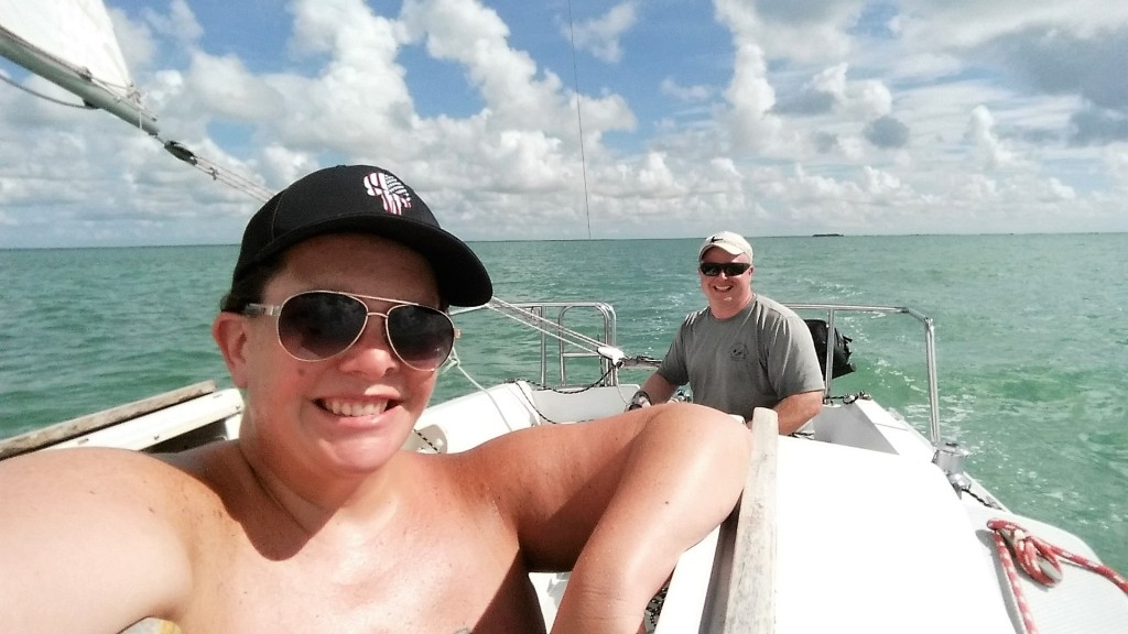 Enjoying a Sailing Vacation in Florida by Michaela Mcgowan