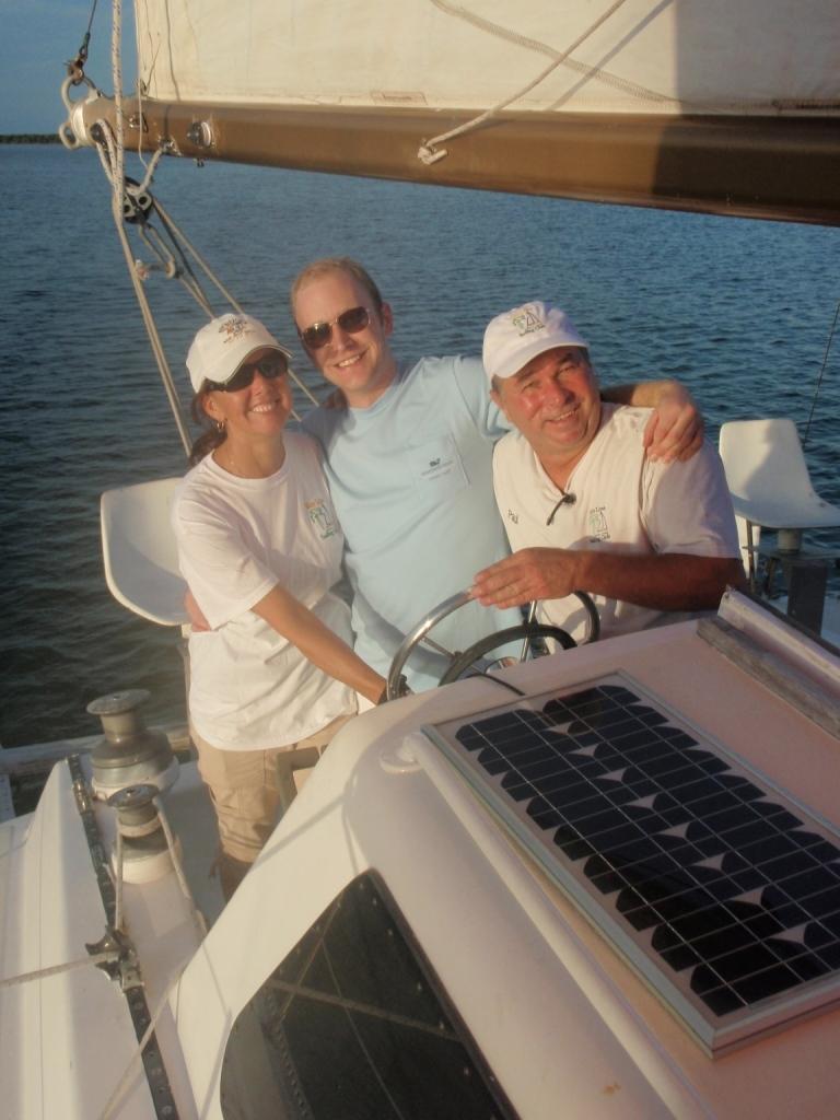 Enjoying a Sunset Sail in Key Largo Florida from Bradley Sadowski
