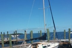 22 Ft Catalina for Guests at Key Largo Cottages in Florida - from Martin James