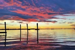 Ashley Partridge - Reddish Sky Sunset in Key Largo