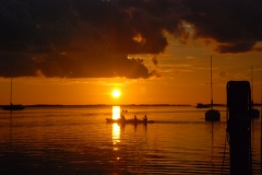 David and Lisa Summers - Kayaking into the Sunset in Key Largo Florida