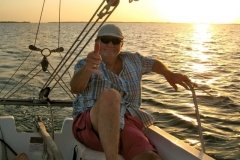 Always a Relaxing Sailing Vacation in Key Largo Cottages - from Ross Lewallen & Hanne Moller