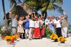 Bavarian Theme Wedding at Key Lime Sailing Club and Cottages