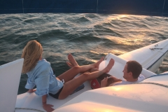 Couple Enjoying a Florida Sunset Cruise - from Greg and Petra Smith